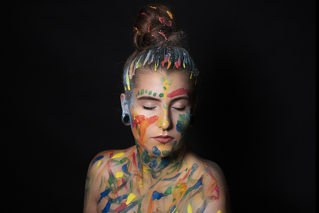 Portrait kreativ